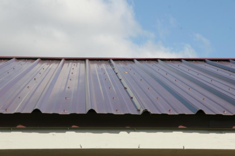 Metal Roof Metal Roof End Lap
